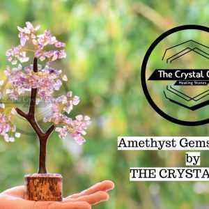Amethyst Healing Gemstone Tree