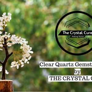 Clear Quartz Gemstone Tree