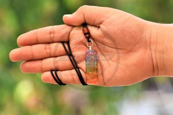 Seven Chakra EMF Pendant